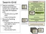 swarm grid