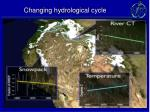 changing hydrological cycle