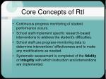 core concepts of rti2