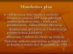 mansholtov plan