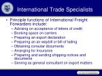 international trade specialists1