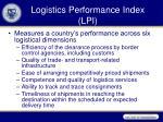 logistics performance index lpi1
