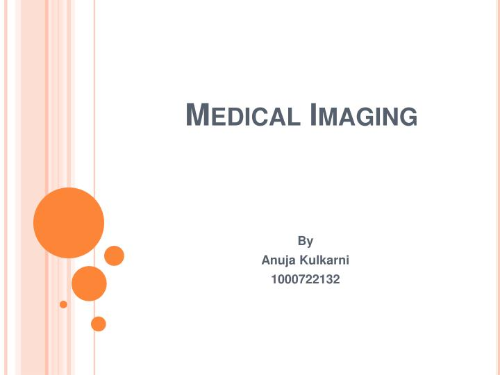 medical imaging n.