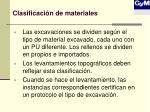 clasificaci n de materiales
