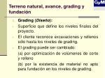 terreno natural avance grading y fundaci n2