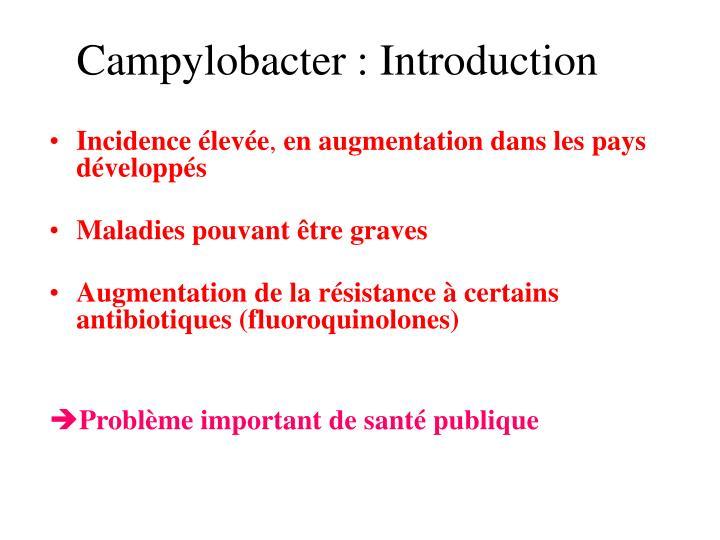 campylobacter introduction n.