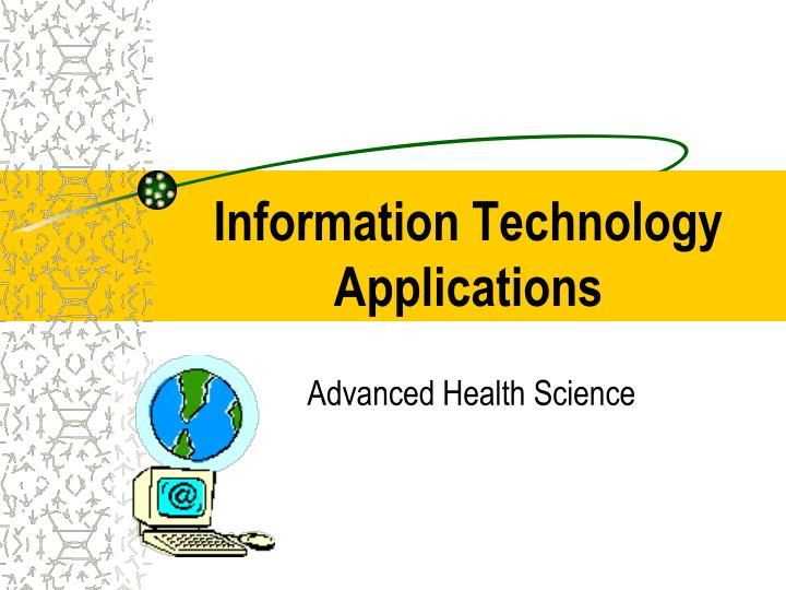 information technology applications n.