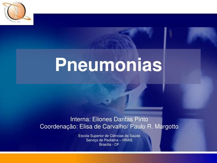 pneumonias n.
