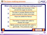 the beer making process