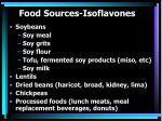 food sources isoflavones
