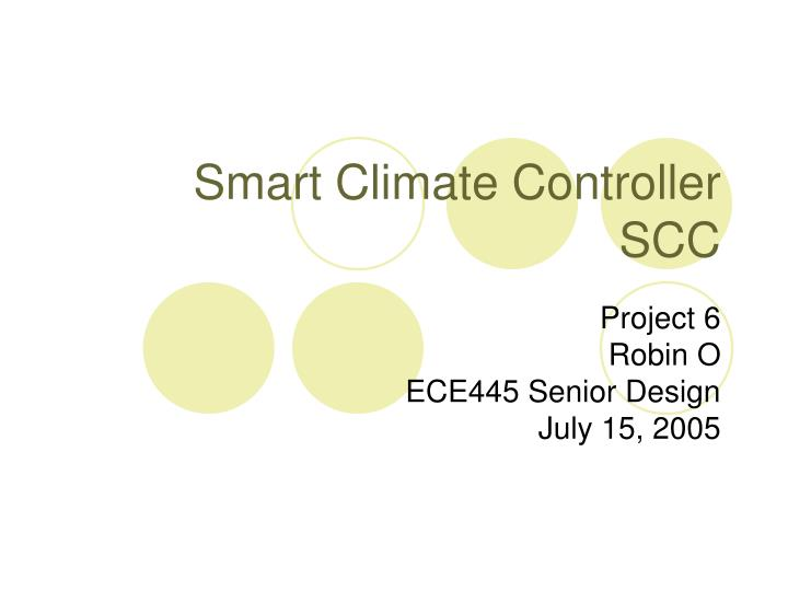 smart climate controller scc n.