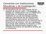 convenios con instituciones educativas y de investigaci n1