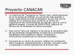 proyecto canacar