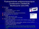fluoroquinolones antipneumococciques levofloxacine tavanic moxifloxacine izilox