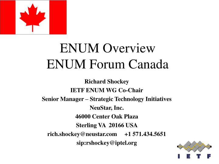 enum overview enum forum canada n.