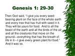 genesis 1 29 30