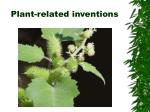 plant related inventions