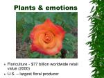 plants emotions