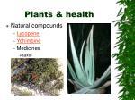 plants health