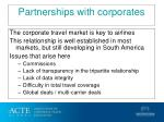 partnerships with corporates
