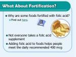 what about fortification