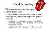 blood screening