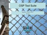 osp tool suite