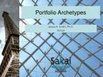 portfolio archetypes