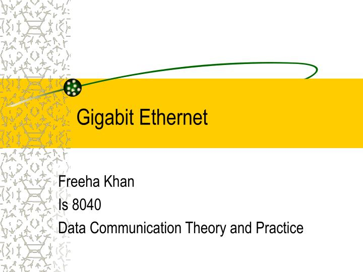 gigabit ethernet n.