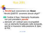 rizzi 2001