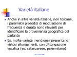 variet italiane