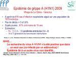 epid mie de grippe a h1n1 2009 village de la gloria veracruz