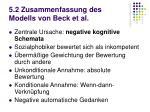 5 2 zusammenfassung des modells von beck et al