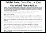 exhibit 9 4a dyno electric cart memorized presentation