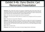 exhibit 9 4b dyno electric cart memorized presentation