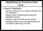 negotiating so everyone wins cont
