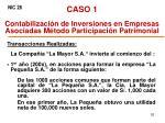 caso 1 contabilizaci n de inversiones en empresas asociadas m todo participaci n patrimonial