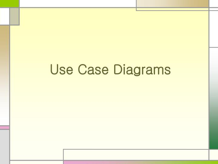 use case diagrams n.