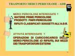 trasporto merci pericolose adr1