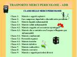 trasporto merci pericolose adr3