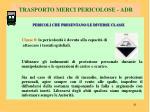 trasporto merci pericolose adr6