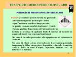 trasporto merci pericolose adr7