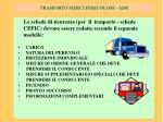 trasporto merci pericolose adr9