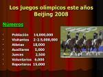 los juegos ol mpicos este a os beijing 2008