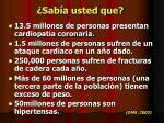 sab a usted que
