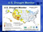 u s drought monitor