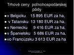 trhov ceny po nohospod rskej p dy