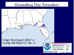 groundhog day tornadoes