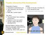 fa ade interactive plot development