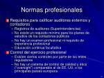 normas profesionales1